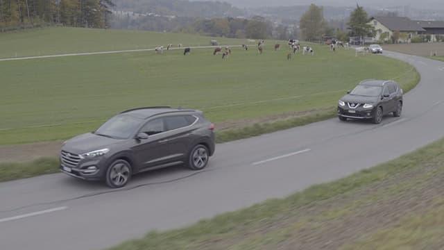Video «Hyundai vs. Nissan, Ändu baut einen Tucson, Junior Driving School» abspielen