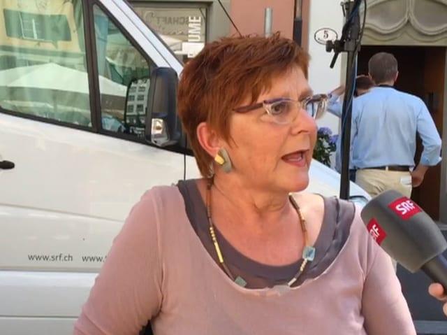 Cécile Bühlmann, ehemalige grüne Nationalrätin aus dem Kanton Luzern, Stiftungsrätin Greenpeace.