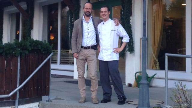 Video «Graubünden – Tag 2 – Restaurant La Riva (Siegerbeiz)» abspielen
