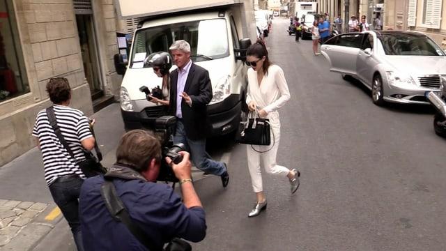 Kendall Jenner auf der Strasse