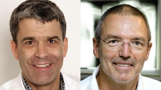 Prof. Christoph Berger und Dr. Thomas Kissling