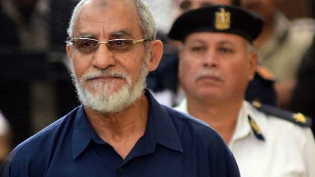 Das Oberhaupt der inzwischen verbotenen Muslimbrüder, Mohammed Badie.