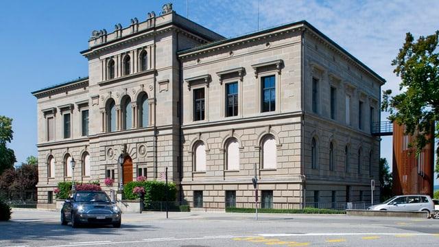 Das Zuger Rathaus, Sitzungsort des Parlaments.