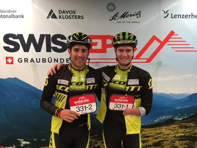 Kilian Badrutt und Luca Tavasci