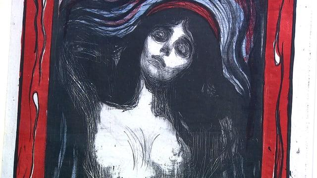 Bild des Bildes «Madonna» von Edvard Munch.