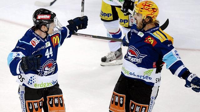 Nikals Persson und Nicklas Danielsson.