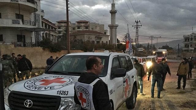 L'IKRK en acziun en Siria.