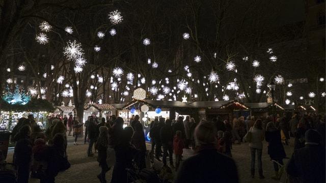 der Basler Weihnachtsmarkt