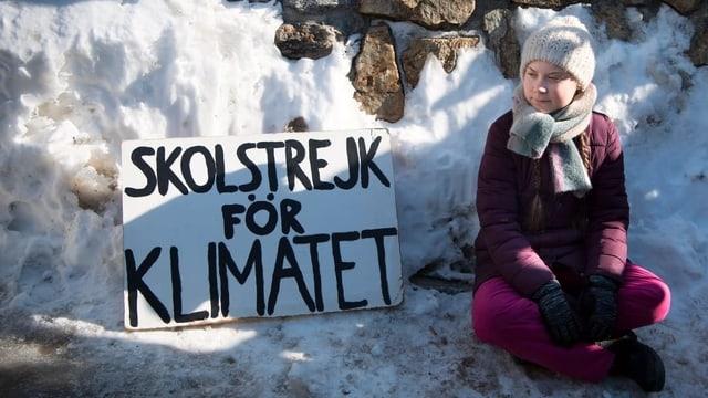 Vorbild Greta Thunberg