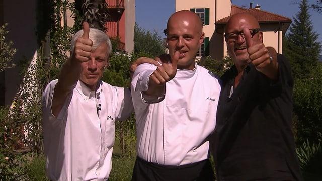Video «Kanton Tessin – Tag 1 – Albergo della Posta, Astano» abspielen