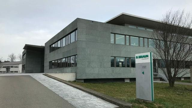 Der Schweizer Hauptsitz der B Braun Medical in Sempach