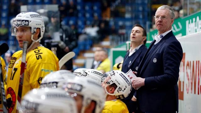 Trainer Kari Jalonen.