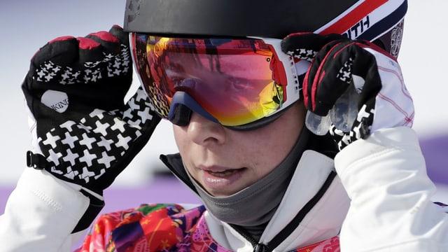 Simona Meiler, snowboardista da Flem.