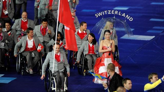 Die Schweizer Paralympic-Athleten
