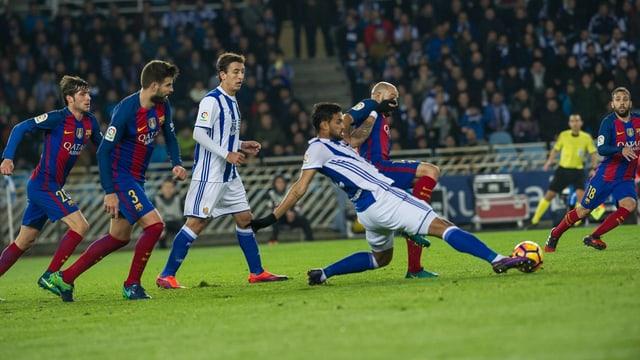 Sociedad gegen Barcelona