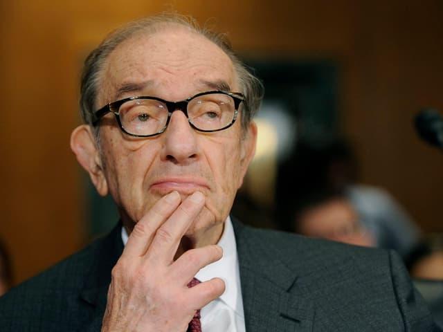 Porträt von Alan Greenspan