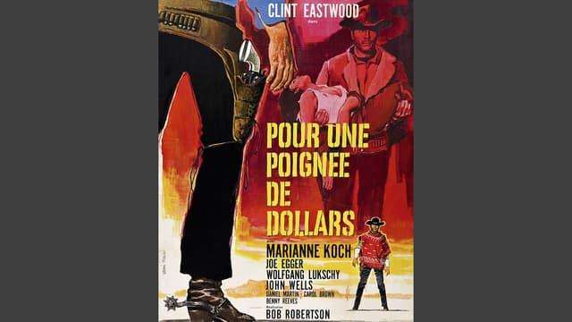 Filmplakat, auf dem zwei gezeichnete Cowboys zu sehen sind.