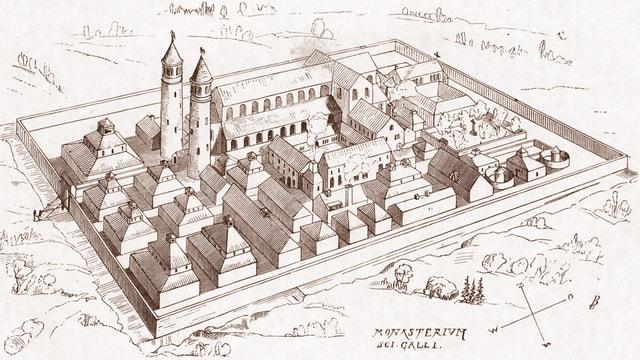 St. Galler Klosterplan