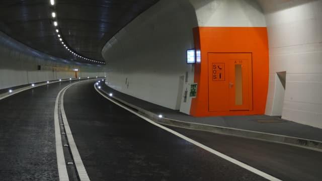 Il nov tunnel dadens.