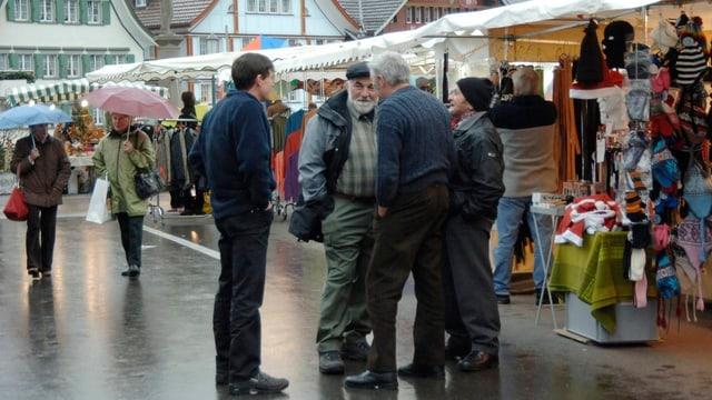 Chlausmarkt in Appenzell
