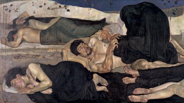 Ferdinand Hodler: Die Nacht (1889/90)