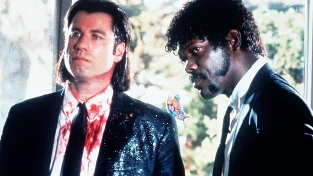 John Travolta und Samuel L. Jackson als Killer im Film «Pulp Fiction».