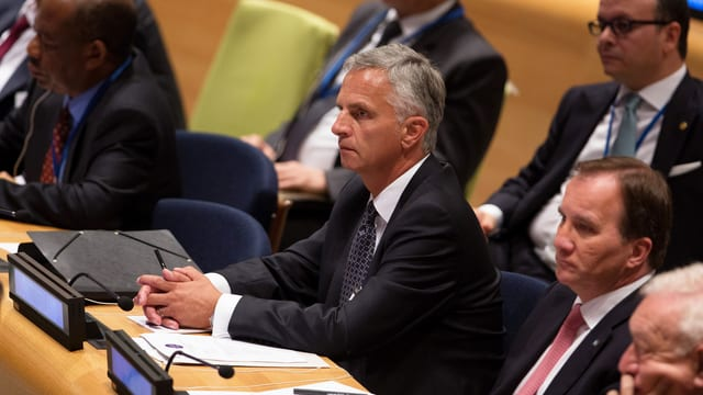 Didier Burkhalter an der UNO-Generalversammlung