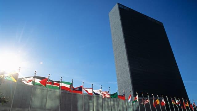 Purtret da la sedia da l'ONU a New York.