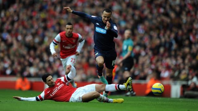 Favorit Arsenal unterlag überraschend Blackburn.