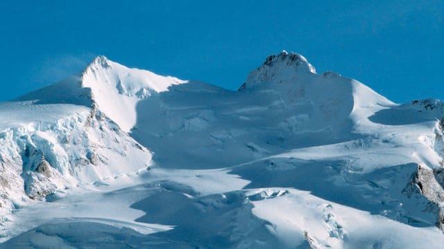 Monte-Rosa-Massiv mit Dufourspitze als höchstem Punkt