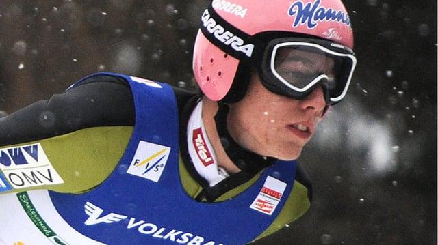 Skispringer Lukas Müller.