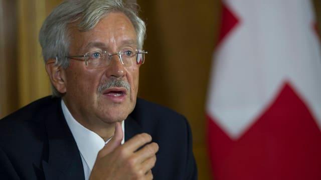 Aufnahme des Schweizer Botschafters in Washington, Martin Dahinden.