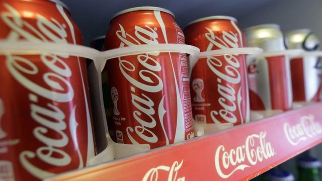Coca-Cola-Büchsen
