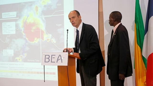 Die französische Untersuchungsbehörde BEA informiert über den Stand der Dinge.