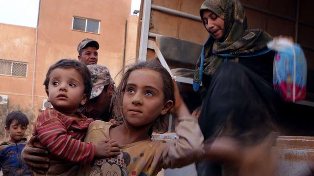 Fugitivs sirians en Jordania.