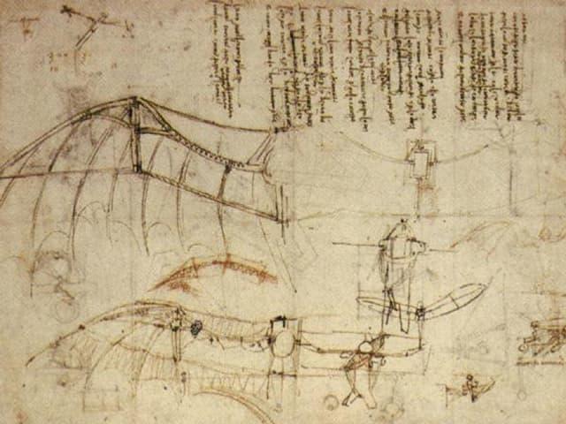 Zeichnung von Da Vinci