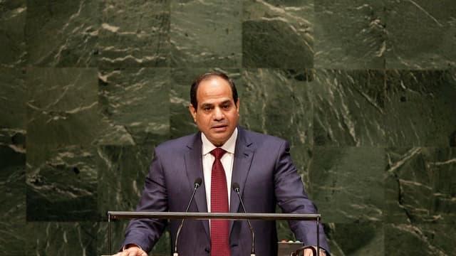 Abdel Fattah al-Sissi.