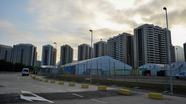 Das Olympiadorf in Rio.