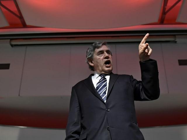 Gordon Brown am SEF 2016.