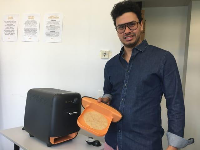 Tortilla-Maschinen-Erfinder