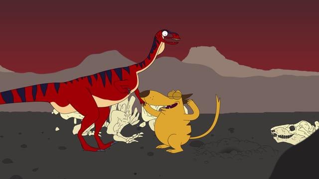 Video «Ralph und die Dinosaurier: Unaysaurus (21/26)» abspielen