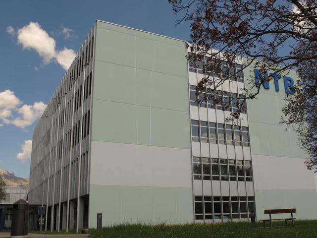Gebäude der Hochschule für Technik in Buchs
