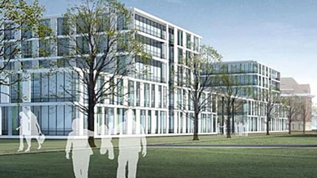 Fotomontage Hauptgebäude Bürgerspital