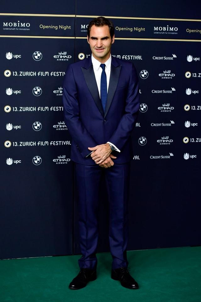 Tennisstar Roger Federer.
