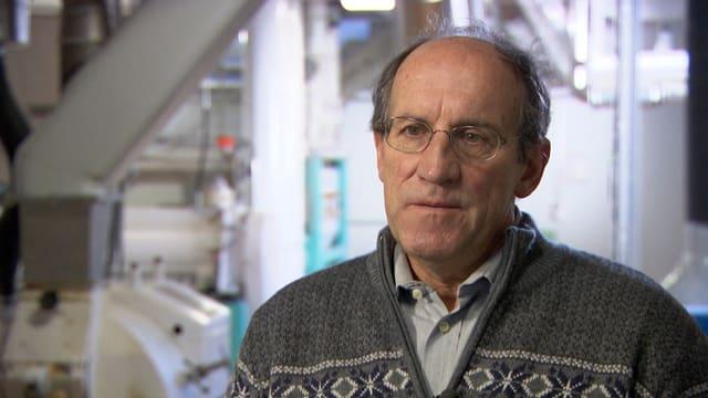 Rudolf Marti, Direktor der Vereinigung der Futtermittelfabrikanten, in Nahaufname