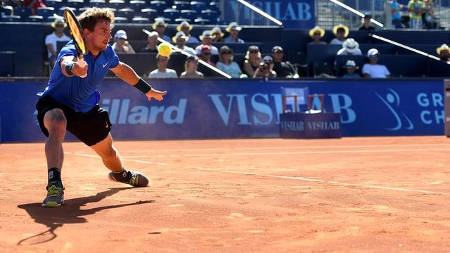 Henri Laaksonen auf dem Court