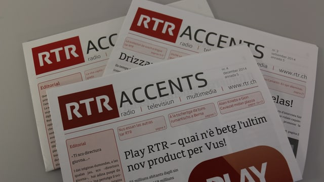 Accents -  la gasetta da chasa da RTR e da la societad purtadra SRG.R