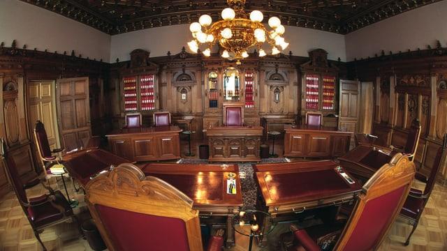 Bundesratszimmer.