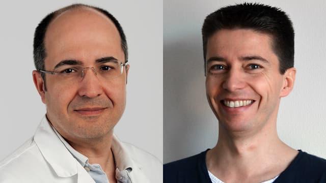 Dr. Daniel Garcia und Dr. Andreas Bänziger