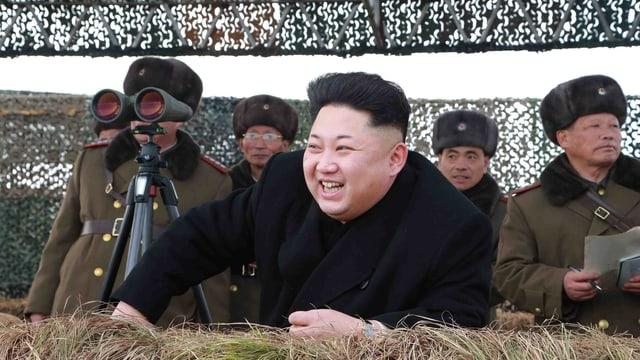 Kim Jong Un porträit